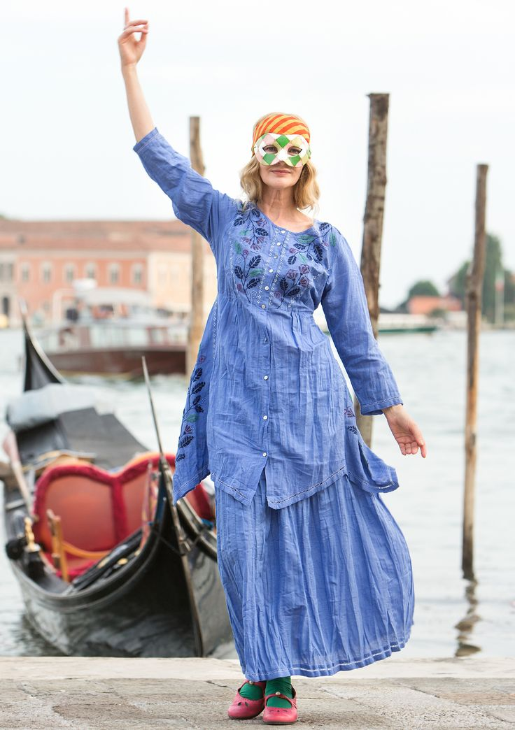 Historic inspiration from Venice – GUDRUN SJÖDÉN – Webshop, mail order and boutiques | Colorful clothes and home textiles in natural materials.