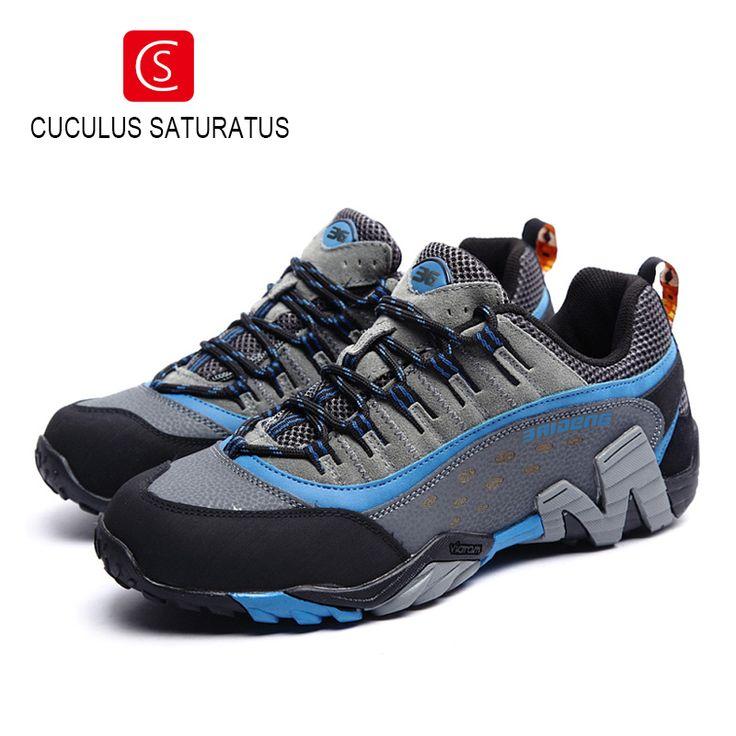 Men Women Outdoor Hiking Shoes Non-slip Men Climbing Shoes Breathable Mountain Trial Trekking Shoes Men Footwear 8008 #Affiliate