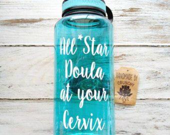 Toutes les étoiles doula votre col - 34 oz cruche, cadeau de doula, sage-femme, accouchement à domicile, doula, naissance de l'eau, cadeau de la sage-femme