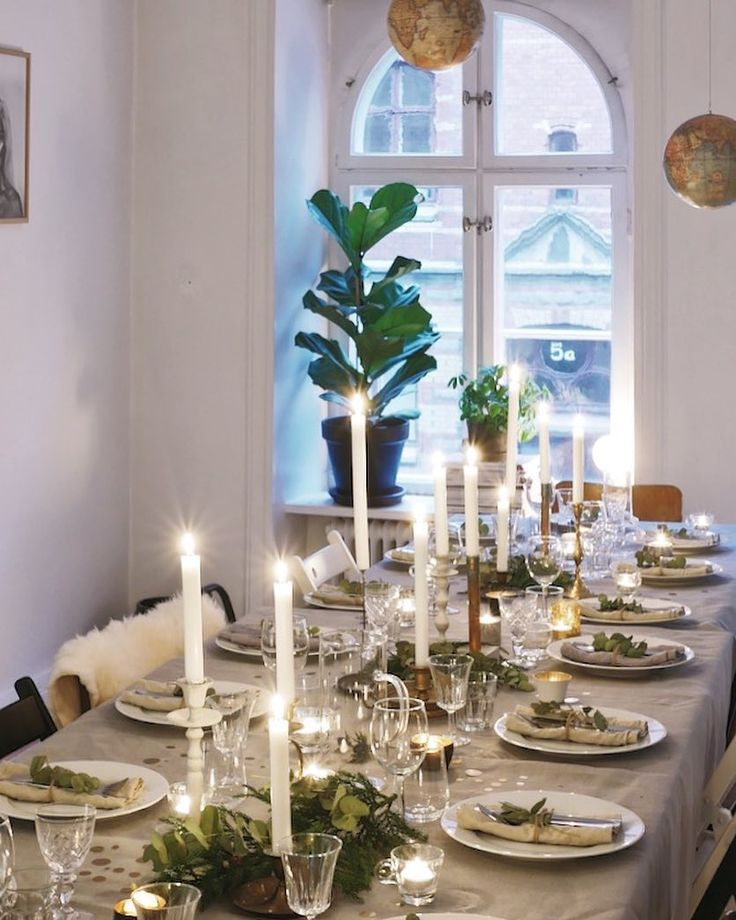 """200 gilla-markeringar, 30 kommentarer - Hos Majorskan (@hosmajorskan) på Instagram: """"Nu är det bara gästerna som saknas💃🏻 Gott nytt år på er! ✨🍾/K – #inredning #inspiration #interior…"""""""