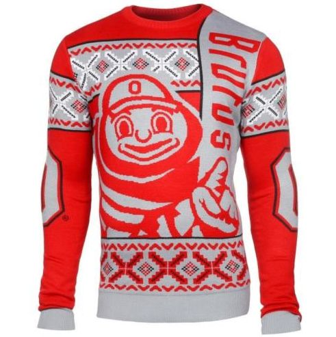 Ohio State Mascot Style Ugly Sweater