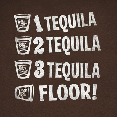 Tequila counting (I think George Carlin came up with this one?)