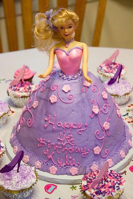 Best Doll Cake Images On Pinterest Doll Cakes Barbie Cake - Birthday cake doll princess