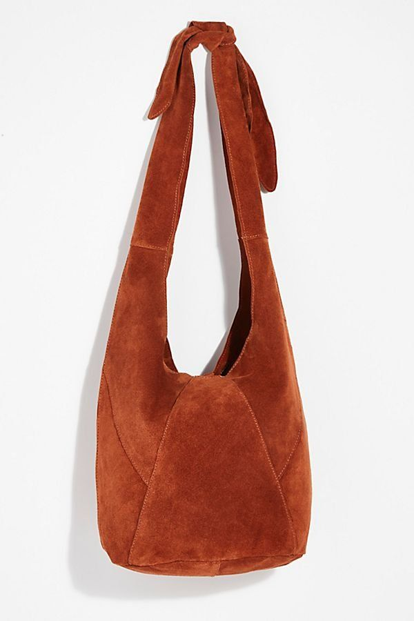 a3c28f0985 Sienna Oversized Sling Bag - Rust Colored Suede Oversized Long Strap Bag -  Cute Fall Bags