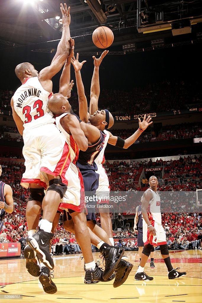 Pin By Mike Garcia On Miami Heat Alonzo Mourning Nba Miami Heat Vince