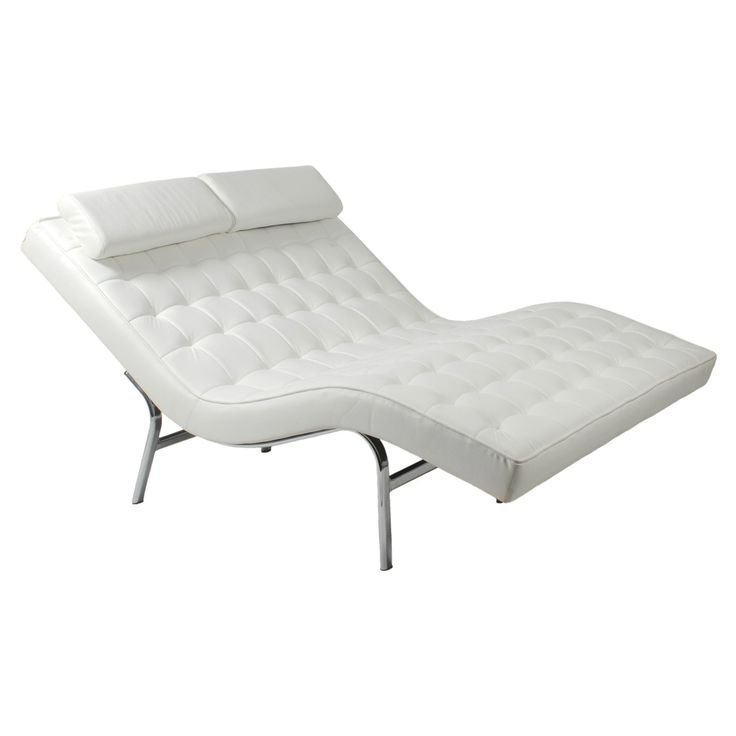 Euro Style Valencia Double Chaise Lounge   $1800 @hayneedle.