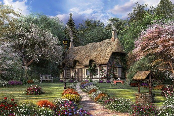Rose Cottage by Dominic Davison