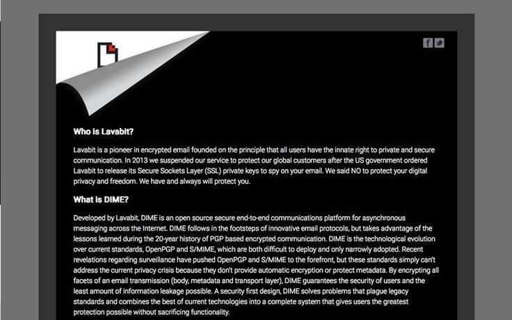 Lavabit - Worlds Best Secure Email Providers | If you're in the states, Lavabit may be the one secure email provider you're familiar with. This would likely be due to it's outspoken founder Ladar Levison. #lavabit #security #email #encryption