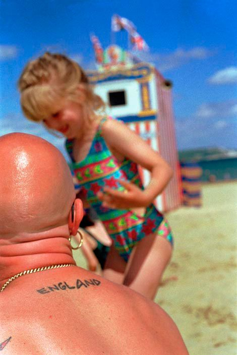 Martin Parr, GB. England. Weymouth. On the beach, 1995-1999