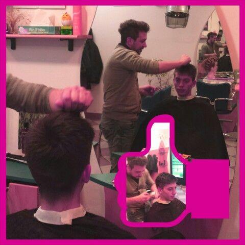 The modern style in an haircut! - Alex Style - #hairstylist #parrucchiere #acconciatore #capelli #hair #look #beauty #bellezza #followme #seguimi #testa #professionalità #originalità #salonedibellezza #blog #blogger #hairstyle