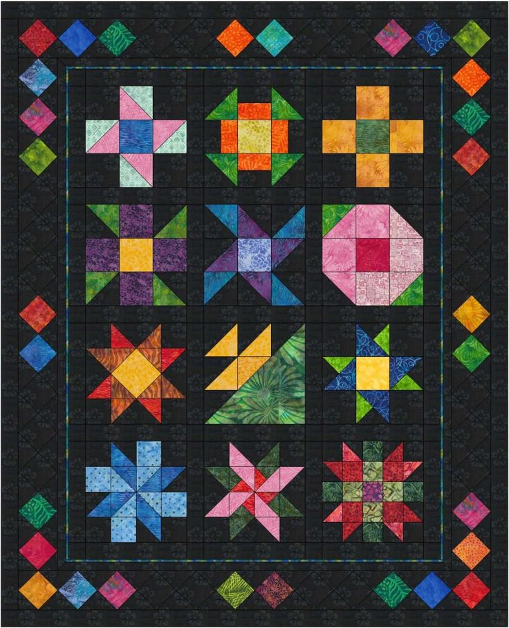 116 best Quilts Primary Colors images on Pinterest | Hand crafts ... : how to make an amish quilt - Adamdwight.com