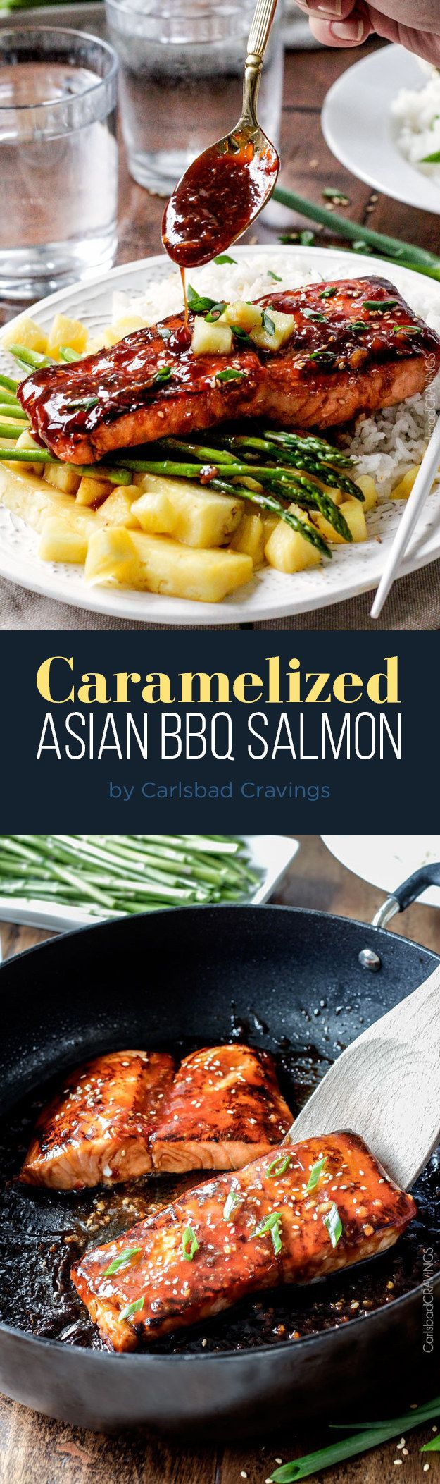 Caramelized Asian BBQ Salmon | 7 Easy Dinner Ideas To Try This Week