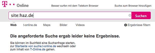 Leistungsschutzrecht wirkt: Mehrere Suchmaschinen zeigen Verlagsseiten nicht mehr an!