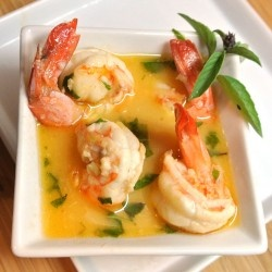 Thai Lemon Lime Shrimp-had this for dinner tonight and it is going ...
