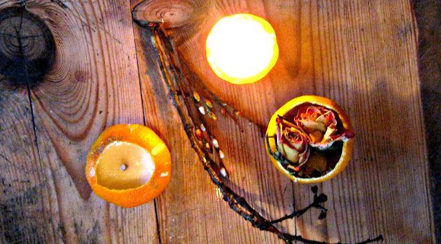 die guten dinge: creadienstag - und was machen wir aus den Orangens...