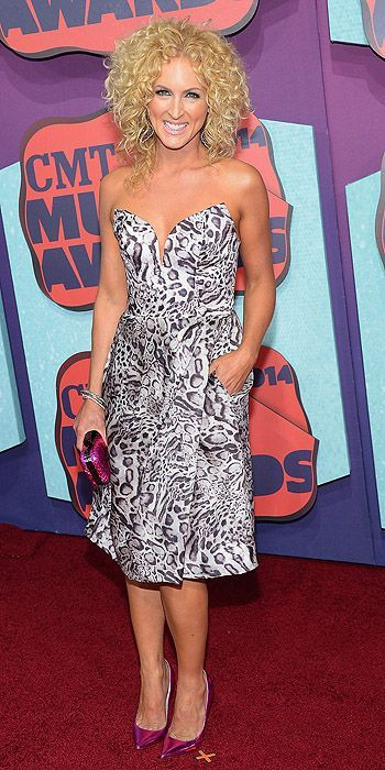 CMT Awards 2014: Kimberly Schlapman, want to get my curls doing this!