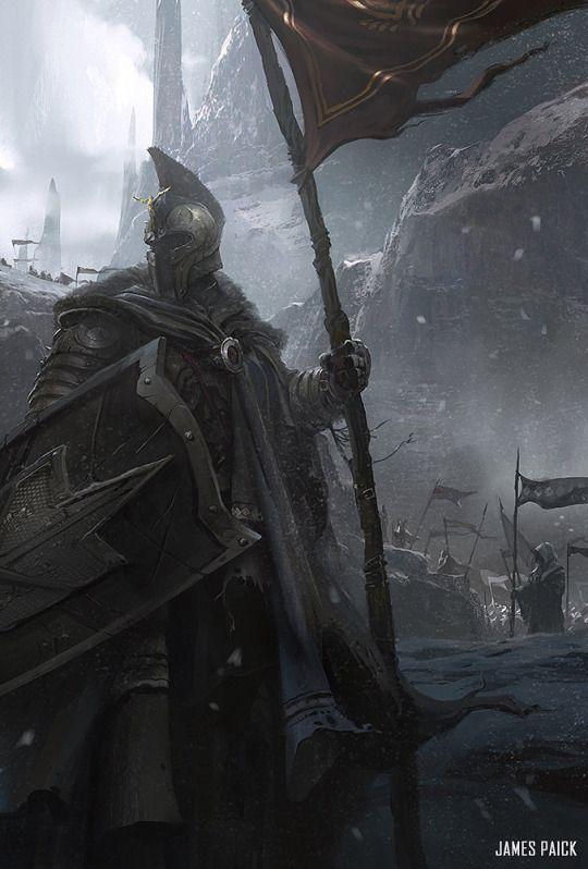 Loving this knight. He's so hardcore.