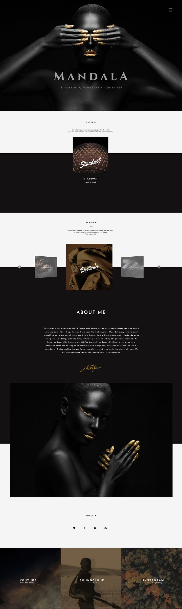 12 best sonaar website templates images on pinterest mandala wordpress theme has been crafted for singers musicians artists and music composers who care about their brand mandala is about harmony maxwellsz