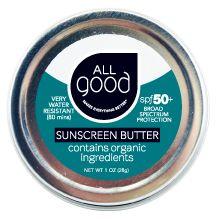 Water Resistant Zinc Sunscreen Butter | SPF 50+ | Natural Sunscreen