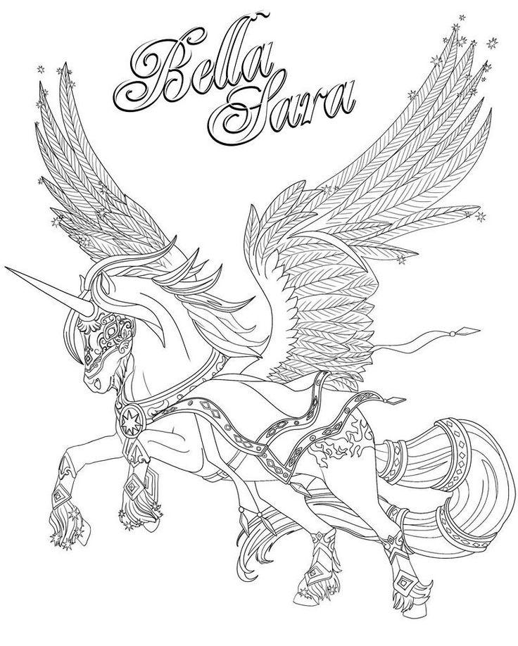 Les 58 meilleures images du tableau coloriage chevaux sur - Dessin cheval a imprimer ...