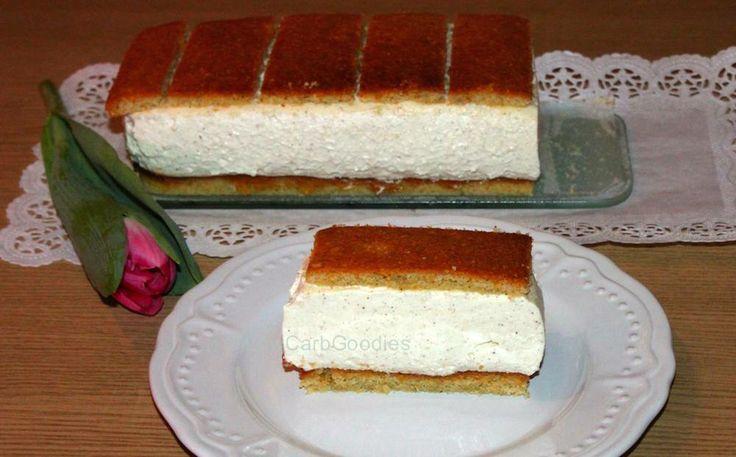 Low carb nougat kuchen