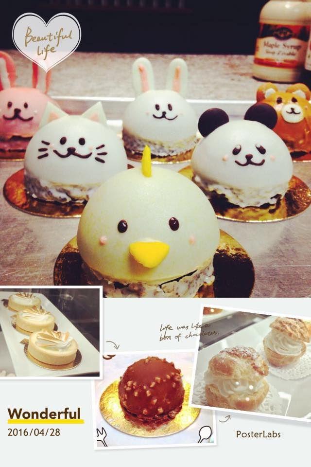 Cute Animal Mousse @ Mitsu Sweet Cafe !!!