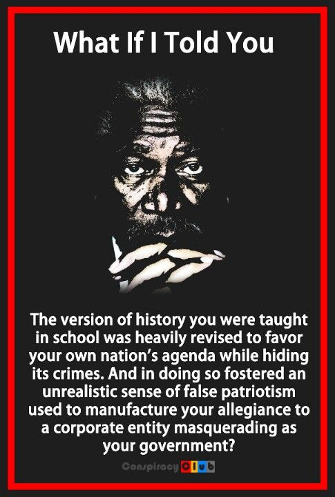 Wake up America! Lots of awful things have happened and we are not learning it! Educate yourselves!
