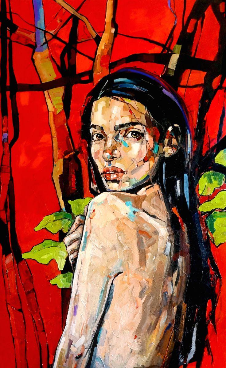 ArtAffair – Galerie für moderne Kunst | Anna Bocek: Red forest