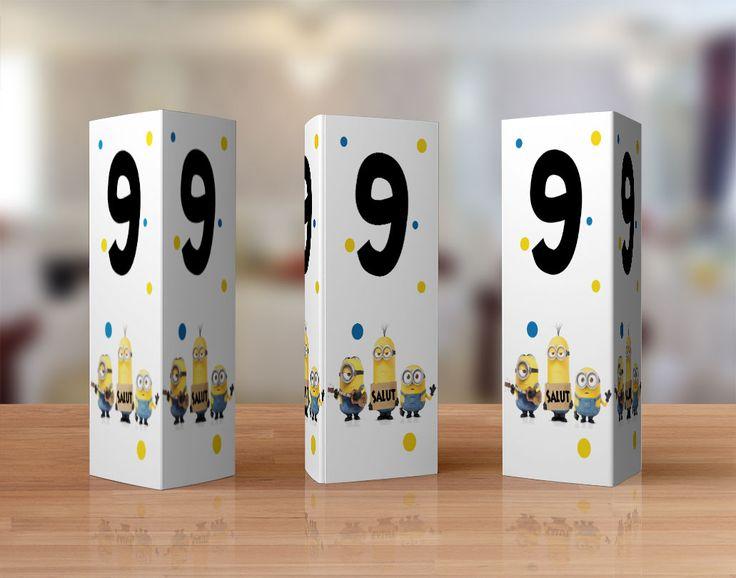 Numere de masa cu Minioni - Tulpa.ro