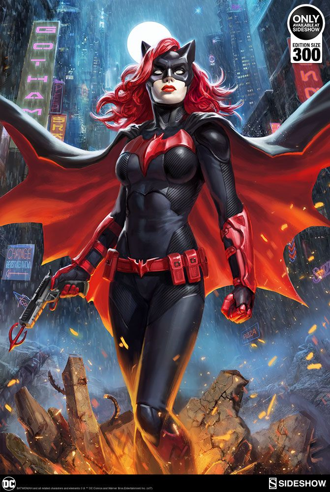 Batwoman Art Print Visit To Grab An Amazing Super Hero Shirt Now On Sale Dc Comics Art Batwoman Superhero Art