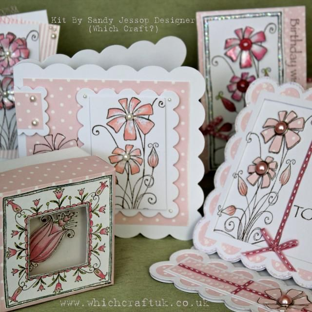 Creating using our ' For Your Inspiration' blank cards...this kit includes everything to create these beautiful cards... Arriving in the post to start your projects straight away...