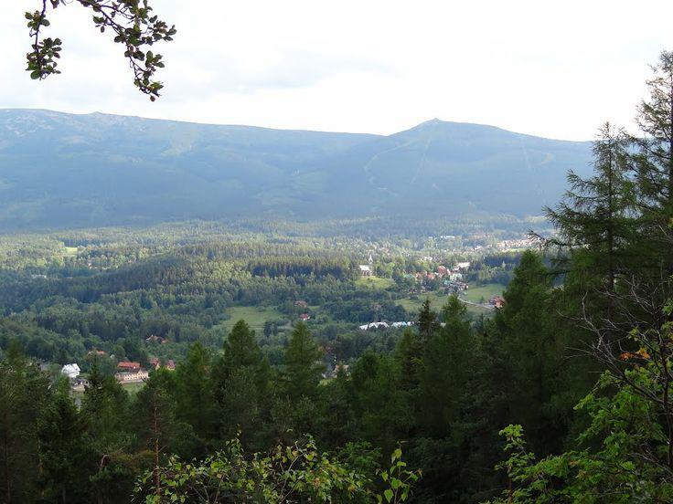 Szklarska Poręba, widok z Armii Krajowej