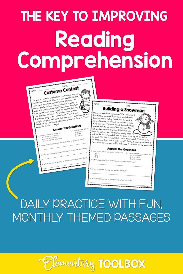 Improve Your Students Reading Comprehension With These 5 Strategies Improve Reading Comprehension Reading Comprehension Elementary Reading Strategies