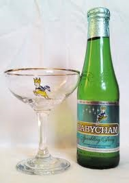 Babycham : My first alcoholic drink, I revisited it recently. Drier than I remember but still as good. To improve it - add brandy! Brandy and Babycham - dynamite...