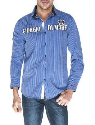 Giorgio di mare camisa | blue line