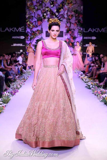 Shyamal & Bhumika Lakme Fashion Week 2014 | Lehengas & Sarees | Bigindianwedding