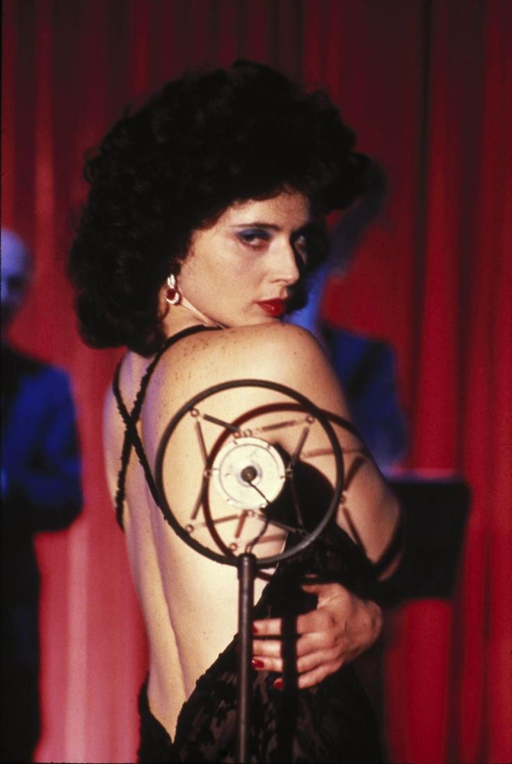 Isabella Rosellini - blue velvet movie 1986