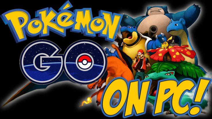 Pokemon GO on PC! How to Play Pokemon GO on PC!  YouTube