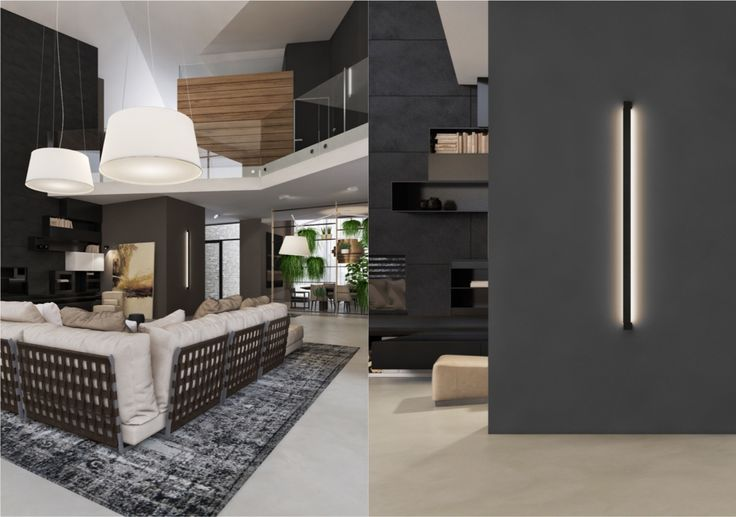 Superbe 3 Living Spaces With Dark And Decadent Black Interiors