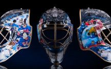 """""""I Must Have These $12,500 Team USA Hockey Masks Made from Gold and Crystals"""" http://www.brobible.com/sports/article/must-12500-team-usa-hockey-masks-made-gold-crystals/"""