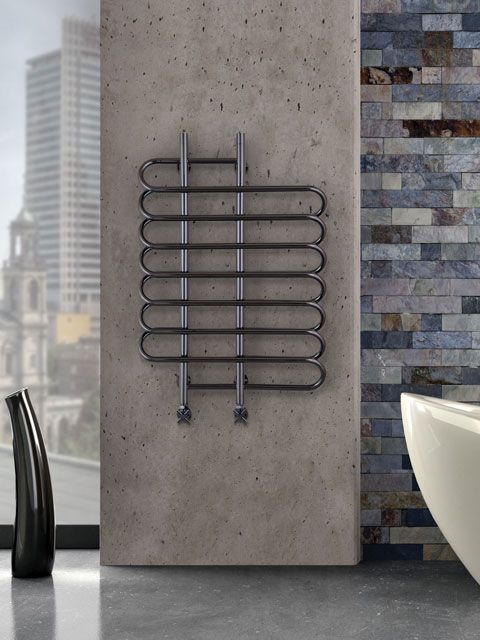 Flame stainless steel towel warmer: It brings together the utility with  designer style to create