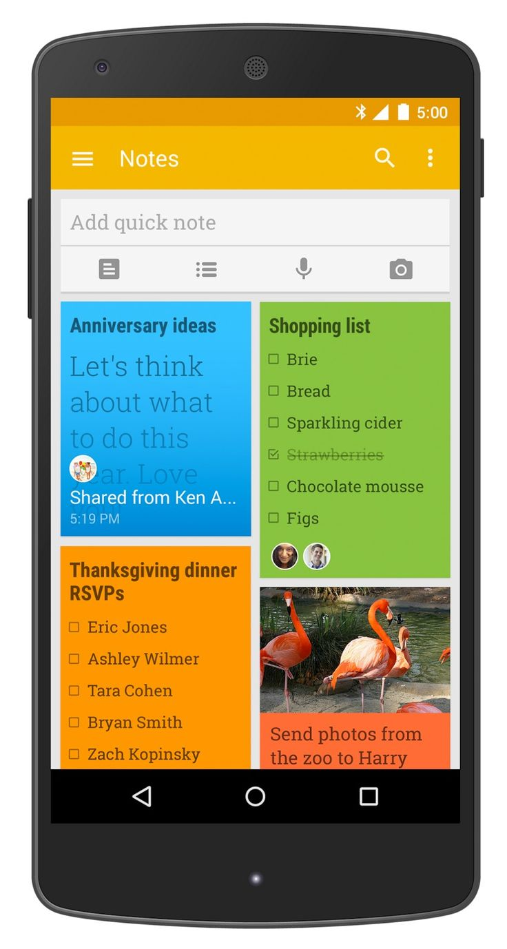 Google Keep gets shareable tasks and notes - https://www.aivanet.