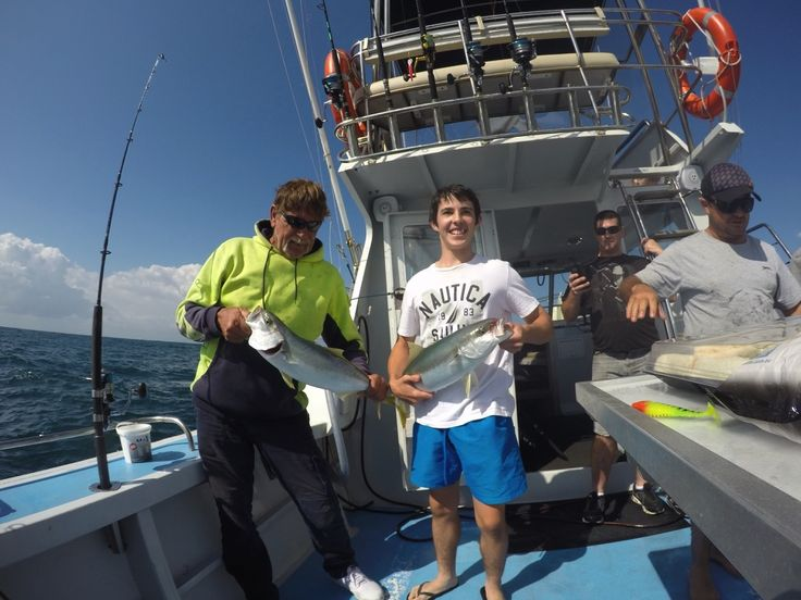 Kingfish for the BBQ - http://sydneypremiumfishingcharters.com.au/kingfish-for-the-bbq/