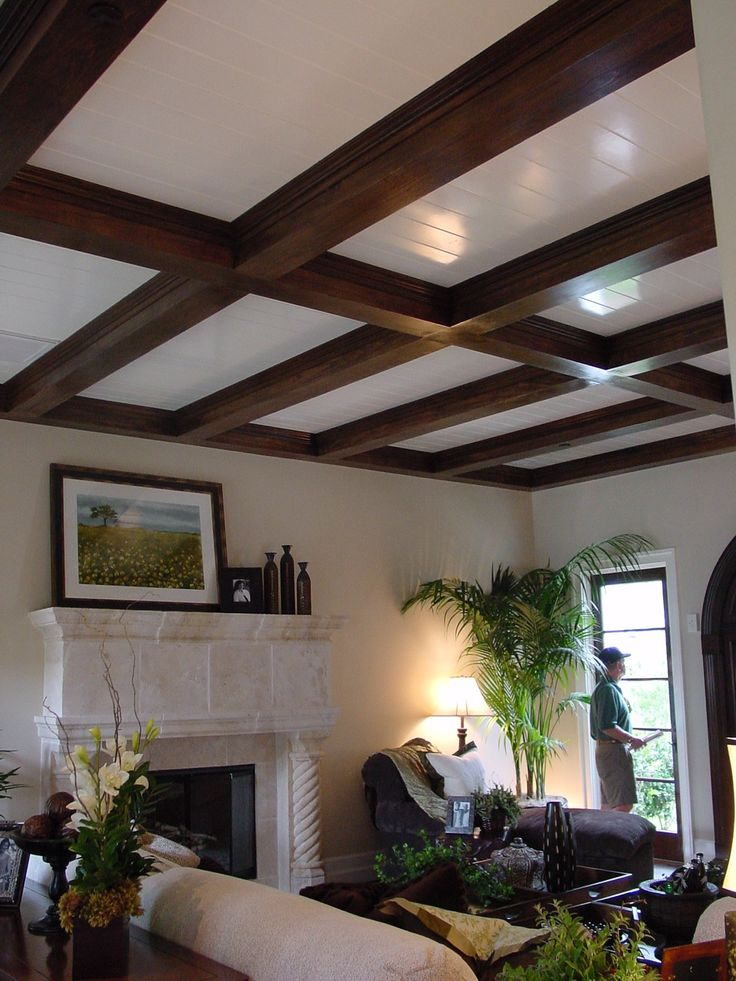 42 Best Images About Box Beam Ceiling On Pinterest