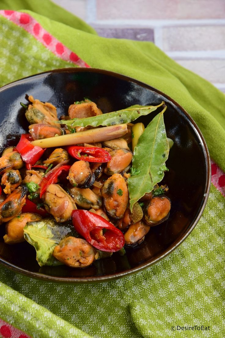 Oseng Kerang, Sauteed mussels