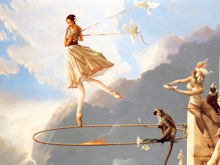 Michael Parkes - Tuesday's Child