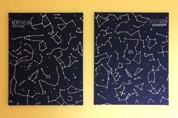 Embroidered-Constellation-Art  @William Garrison do you love this?!?!