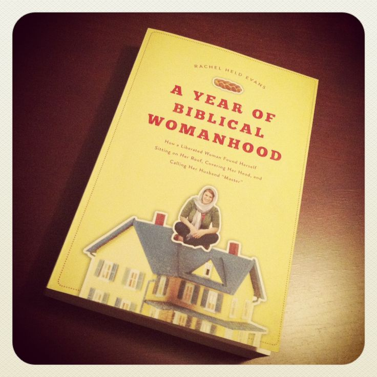 Review of A Year of Biblical Womanhood by Rachel Held Evans. #books