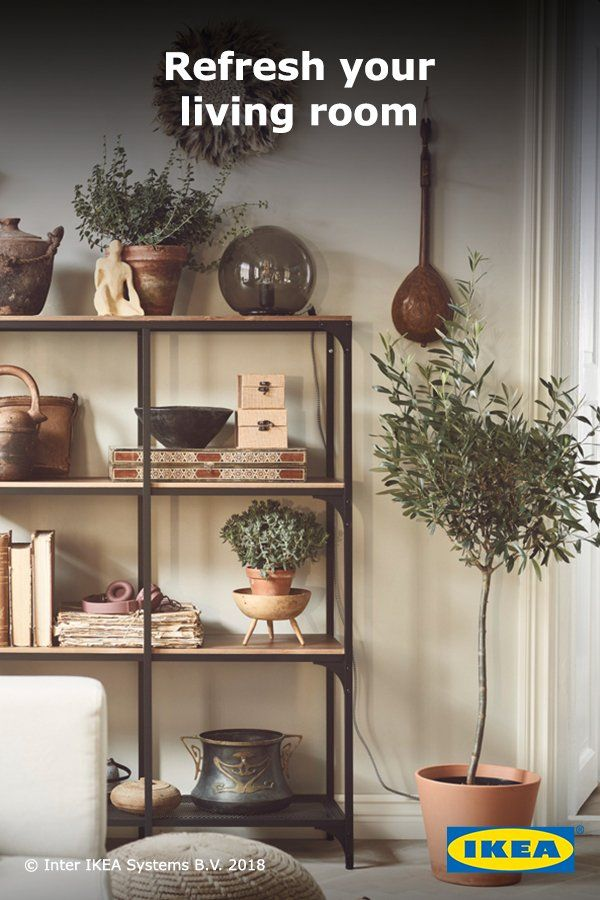 Rustic Homey Storage Will Give Your Living Room A Contemporary Feel Add Favorite Plants And Décor To Make The E Own Click Browse