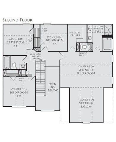 Kelsey Plan at Hampton Oaks in Fairburn Georgia 30213 by Crown